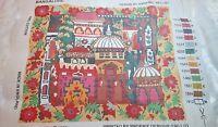 "Ehrman 2002 Annabel Nellist BANGALORE Tapestry Needlepoint Kit Retired 23"" x 20"""