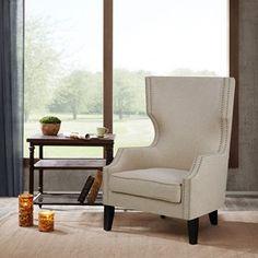 Brighton Modern Wing Chair