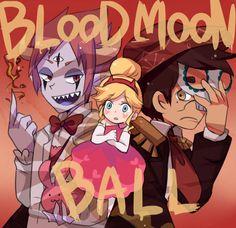 BLOOD MOON BALL by rukuru0oekaki.deviantart.com on @DeviantArt