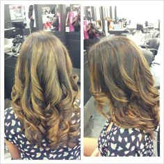 balayage hair color by Emilee at Studio Chroma, Miami