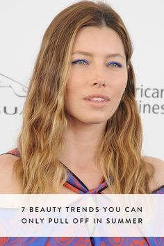 7 Beauty Trends You Can Only Pull Off in Summer via @PureWow
