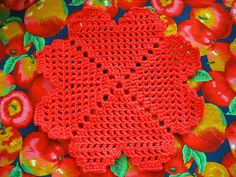 Ravelry: Granny's Heart Filet Motif pattern by Priscilla Hewitt. ❤CQ #crochet…