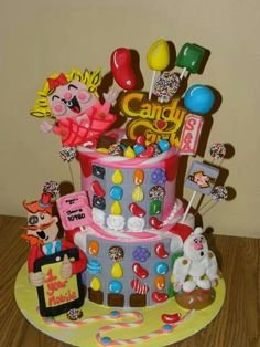 Happy birthday to my sis Dulce and many more to come. I know that you like to play this game Candy Crush.....