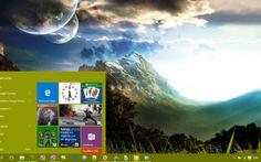 Paysage Desktop Theme