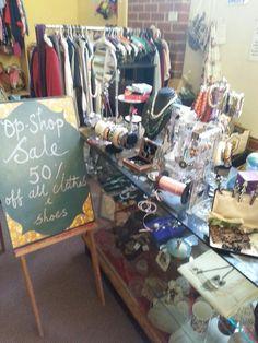 Best Melbourne op shops ♡ sale time at Christ Church, Brunswick