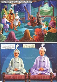 Guru Har Krishan - The Eighth Sikh Guru (English Graphic Novel) Guru Harkrishan Ji, Guru Nanak Teachings, Baba Deep Singh Ji, Guru Nanak Wallpaper, Golden Temple Amritsar, Harmandir Sahib, Sri Guru Granth Sahib, Nanak Dev Ji, Lord Shiva Painting
