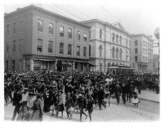 Emancipation Day celebration in Richmond, Virginia in 1905