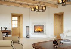 Stylové interiérové dveře Sapeli - BERGAMO dýha smrk sukatý Home, Home Decor, Decor, Fireplace