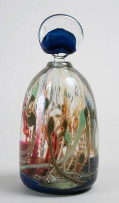 Art Glass Perfume Bottles   284: Leon Applebaum, Art Glass Perfume Bottle
