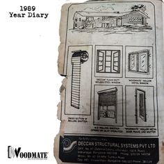 Throwback to 31 years ago!  This was found at the back of our old 1989 Year Diary. The Book has survived albeit a bit of wear and tear around the edges. A peep into the past where our marketing was about also adding value to the Customer.  What do you recommend as modern practical usage tools for the customer?  Add #WoodMateWindows to your homes #Tbt #throwbackthursday #marketing #advertisemets #yeardiary #madovermarketing #oldisgold  #upvcwindows #upvcdoors #upvcdoorsandwindows… Steel Doors And Windows, Upvc Windows, The Book, Survival, Homes, Marketing, Modern, Instagram, Houses