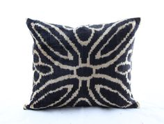 14x16 inches-New Trend- Velvet ikat Pillow,Handmade Decorative Pillow,Traditional  Pillowcase, Modern Soft Decorative Pillow For Couch by BERZEY on Etsy https://www.etsy.com/listing/260891873/14x16-inches-new-trend-velvet-ikat
