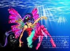 Sirenix Fairy of Melody by Galistar07water