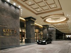 Entrance of Lotte Hotel Moscow
