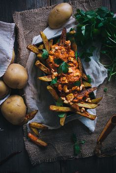 Oven Baked Curry Fries / by Eva Kosmas