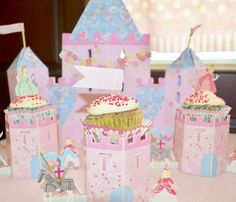 Fairytale princess baby shower party! See more party ideas at CatchMyParty.com!