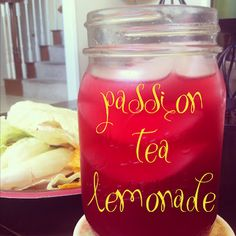 Starbucks At Home: Passion Tea Lemonade. Save your bank account!