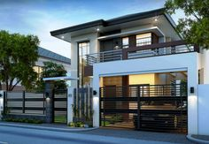 Two storey house design contemporary 2 storey house designs house interior with two storey modern house . 2 Story House Design, Simple House Design, Modern House Design, Small Home Design, Simple House Exterior, Modern Minimalist House, Minimalist Home Interior, Minimalist Bedroom, Minimalist Design