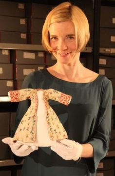 Lucy Worsley    This woman has my dream job!