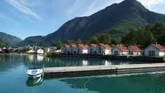 A perfect day on vacation in Skjolden,Songnefjord Norway