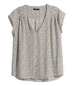 :: printed blouse ::