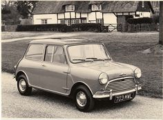 Morris Mini Cooper - 1962 British Sports Cars, Car Manufacturers, Press Photo, Classic Cars, Automobile, Black And White, Mini, Ebay, Photos
