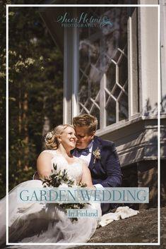 Garden Wedding, Finland, Villa, Wedding Inspiration, Wedding Dresses, Photography, Bride Dresses, Bridal Gowns, Photograph