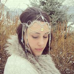 Chain Head Dress Godess Costume #Chainmaille - The Ice Princess