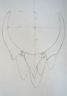 Мастер-класс: вышитое колье с кристаллами Swarovski «Бездна» - Ярмарка Мастеров - ручная работа, handmade
