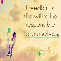 Recovery is freedom