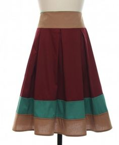 Craving Colorblock Skirt from Lace Affair
