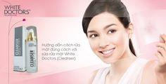 White Doctors Cleanser giúp tẩy dịu nhẹ, tái tạo tế bào da, se khít lỗ chân lông, trị mụn hiệu quả bởi các thành phần chiết xuất tự nhiên, được các chuyên gia