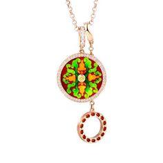 """Shou Hu Shen"""" Diamond Necklace ·"""