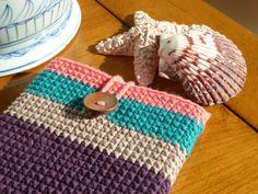 Funda para mini tablet en crochet por MUMIMOO en Etsy