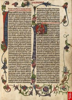 On the 24 August 1456, the #GutenbergBible, was produced on a printing press. Gutenberg's 42-line Bible is the earliest full-scale work printed in Europe using movable type.