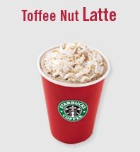 ANY time of year is a good time for a Starbucks Toffee Nut Latte. My favorite drink from there.