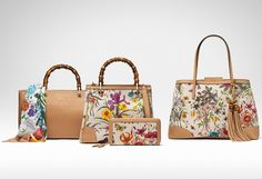 Gucci Flora collection a special and colorful collection celebrates the brand's 50 years in Japan