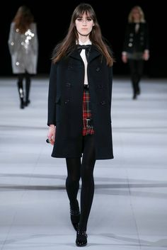 Saint Laurent - Fall 2014 Ready-to-Wear - Look 3 of 55