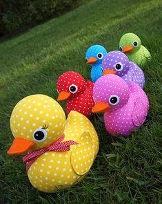 5 Little Ducks Pattern by braidcraft on Etsy
