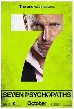 Movie Poster Inspiration Seven Psychopaths