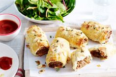 Impress+your+family+and+friends+with+these+gourmet+beef+and+caramelised+onion+sausage+rolls!