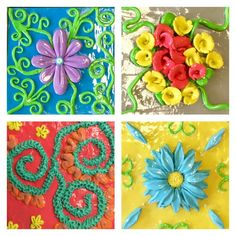 Relief Tile Craft done @ Tamp Sec