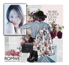 """""""Romwe"""" by ani-onni ❤ liked on Polyvore featuring Étoile Isabel Marant, WithChic and Forever 21"""