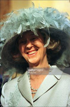 Queen Fabiola of Belgium at the wedding of Prince Philippe with Mathilde d'Udekem d'Acoz.