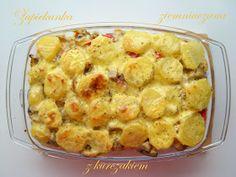 Mieszalnia smaków: Zapiekanka ziemniaczana z kurczakiem
