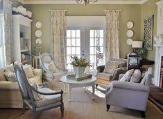 Gorgeous living room makeover by @Deb Keller Farm #spring