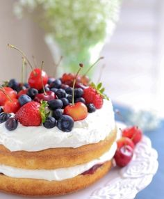 7. Add #Fruit - How to Make Delectable Low-Calorie #Cakes ... → #Food [ more at http://food.allwomenstalk.com ]  #Laden #Calorie #Typical #Delectable #Tasty