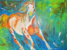 """Saatchi Online Artist Melissa Whitaker; Painting, """"A Horse With No Name"""" #art"""
