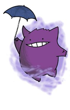 Gengar. Don't forget to like this Pokemon Facebook page for more cool Pokemon content: http://www.facebook.com/shinydragonairx