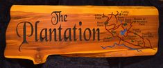 Hunting Camp Sign 2 inch thick The Plantation Photo Lake House Signs, Cabin Signs, Cottage Signs, Home Signs, Camper Signs, Deer Camp, Personalized Signs, Ponds, Fields