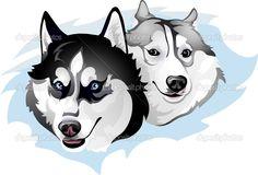 http://ru.depositphotos.com/vector-images/husky-dog-st420.html?qview=44946837